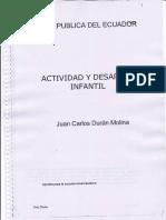 1 PInf. Actividad y Desarrollo Infantil