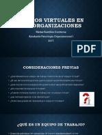 Equipos Virtuales en Las Organizaciones