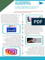 Instagram está testando a sua nova navegação de feed