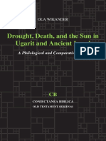 WIKANDER Ola 2014 Drought Death and the Sun in Ugarit and Ancient Israel a Philological and Comparative Study CB 61