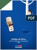 Codigo de Etica SENAME