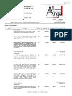 Presupuesto Primera Obra