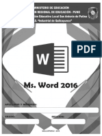Manual Ms Word 2016
