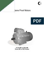 Crompton Greaves Flameproof Motors Catalogue