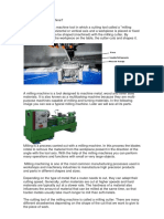 What is a Milling Machine