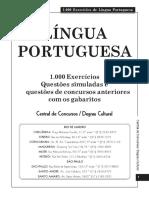 1000 Testes Portugues Folha Dirigida