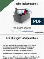 Les 10 plugins wordpress