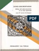 Las Afecciones Desordenadas Influjo Del Subconsciente en La Vida Espiritual Sal Terrae 1992 PDF