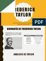 Presentacion Frederick Taylor