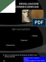 Devaluación - Economía