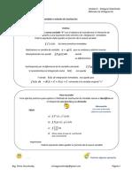 1P Teórico Métodos de Integración Sustitucion Partes