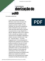 2018.10.12 – Público – a Uberização Do Sexo — António Guerreiro