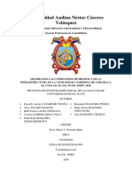 Proyecto de mejoramiento y capacitación - en La Comunidad Campesina de Coraraca, El Collao, Ilave, Puno, Perú, 2018