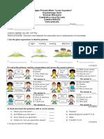 Examenes Ingles Primaria