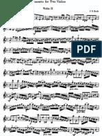 Bach Double Concerto Violin Part 2