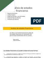 Análisis de Estados Financieros PPT 2018