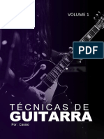eBook Tecnicas de Guitarra