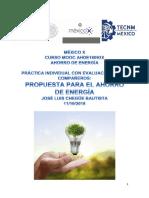 Practica Ahorro de Energía