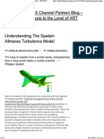 Understanding the Spalart-Allmaras Turbulence Model