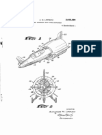 2918229 Lippisch Ducted Aircraft With Fore Elevators (1957)