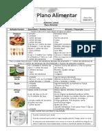 Plano Alimentar - Definição