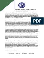 El documento de la CGT