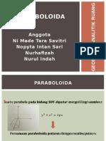 Paraboloid A