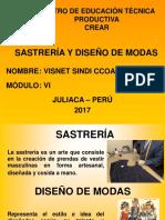 SASTRERÍA Y DISEÑO DE MODAS_CREAR_2017.ppt