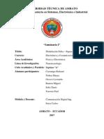 Informe Modulación delta sigma
