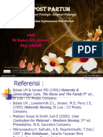 Konsep & Askep Post Partum