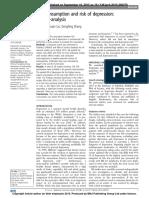 Li Fang Et Al, Fish Consumption and Risk of Depression