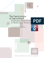 The Feminization of Agriculture