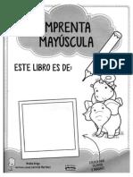Cuadernillo de Lestras y Ejercicios IMPRENTA MAYÚSCULA