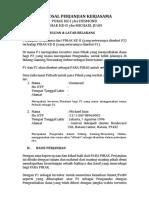 Proposal Perjanjian Kerjasama