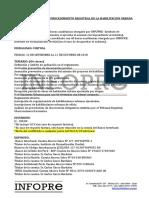 Inscripción y Procedimiento Registral de La Habilitacion Urbana