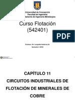 Capitulo 11-Circuitos Industriales de Flotacion de Minerales de Cobre