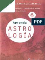 Aprenda Astrologia Volumen 4 Marion D March Y Joan Mcevers.pdf