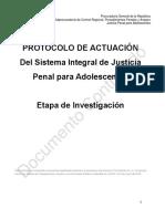 PJPAEInv Protocolo de Justicia Para Adolescentes