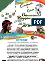Orientaciones Pedagógico Culturales 2018 2019