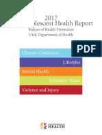 2017 Utah Adolescent Health Report
