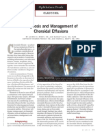 Ophthalmic Pearls - Choroidal Detachment