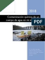 actividad integradora Contaminación química del agua