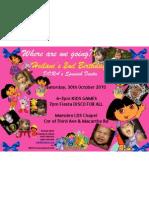 Heilani Baby - Dora Invitation
