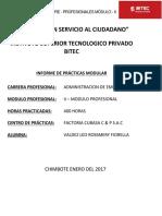 PRACTICAS CUBASA 2017