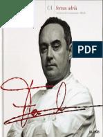 Ferran Adria, Cocina Con Firma Tomo 1