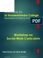Social Work Workshop