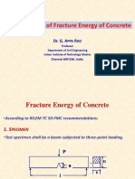 Determination of Fracture Energy.ppt