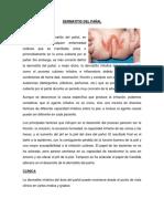 Dermatitis Del Pañal