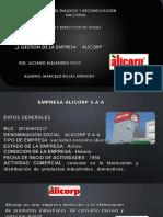 Gestion de ´´ Alicorp ´´
