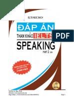 Ielts Speaking by Ngoc Bach Ver 6.4